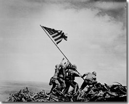 The Raising of the Flag at Iwo Jima