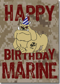Wish a Marine 