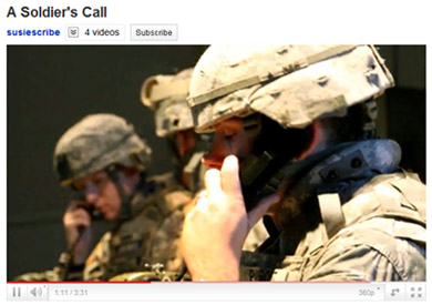 A Soldier's Call Video